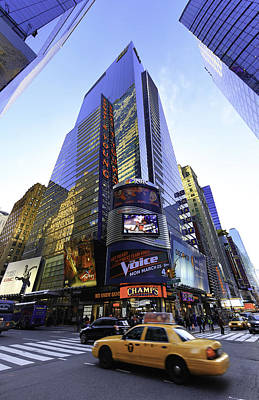 Auditors Wall Art - Photograph - Times Square Big Accounting Firm by E Osmanoglu