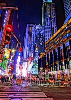 Times Square Art Print by Dan Sproul
