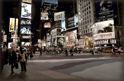 Photograph - Times Square   by Dyle   Warren