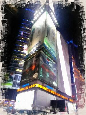 Photograph - Times Square  by John  Duplantis