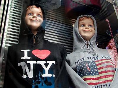 Times Square Kids Art Print by Ed Weidman