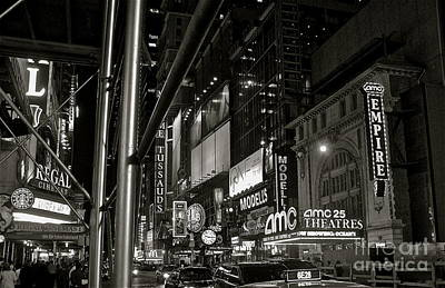 Photograph - Times Square by LeLa Becker