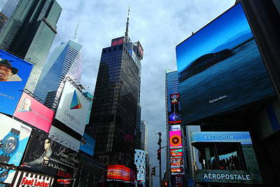 Photograph - Times Square by Linda Edgecomb