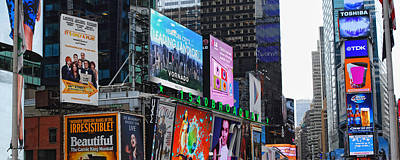 Photograph - Times Square - Looking South by Paulette B Wright