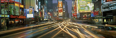Times Square New York Ny Art Print by Panoramic Images