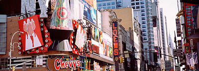 Featured Images Photograph - Times Square, Nyc, New York City, New by Panoramic Images