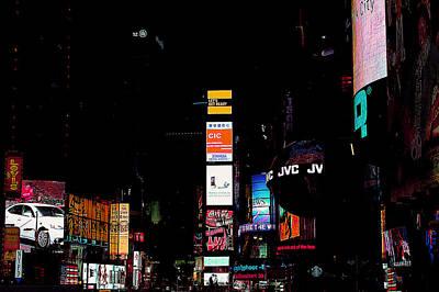 Thomas Kinkade Royalty Free Images - Times Square Royalty-Free Image by Pablo Rosales