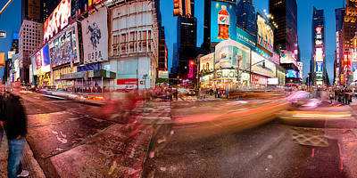 2-1-2013 Photograph - Times Square Series by Josh Whalen