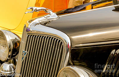 Photograph - Timmis-ford V8  by DJ Laughlin
