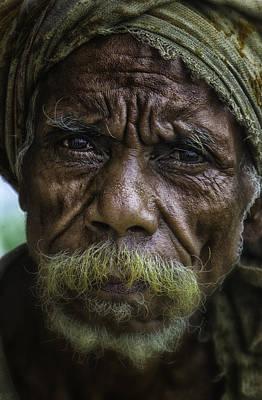 Timorese Fisherman Original by David Longstreath