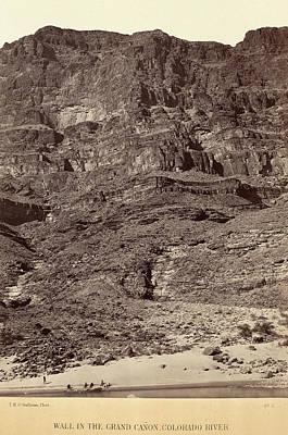 Grand Canyon Drawing - Timothy H. Osullivan American, Born Ireland by Quint Lox