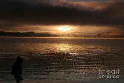 Timothy Lake Mysterious Sunrise 2 Art Print