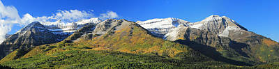Photograph - Timpanogos Panorama by Johnny Adolphson