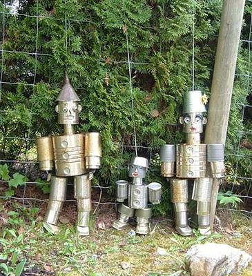 Photograph - Tin Can Family  by Sharon Duguay