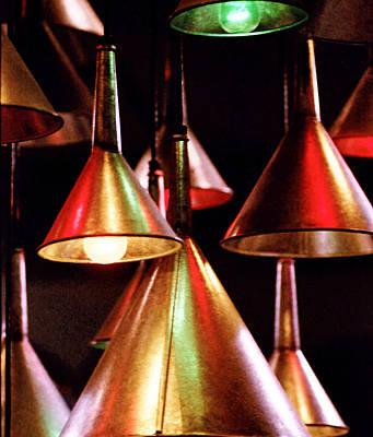 Photograph - Tin Lights by Robert  Rodvik
