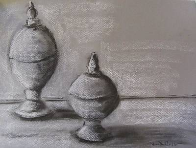 Tin Orbs Original by Maria Milazzo