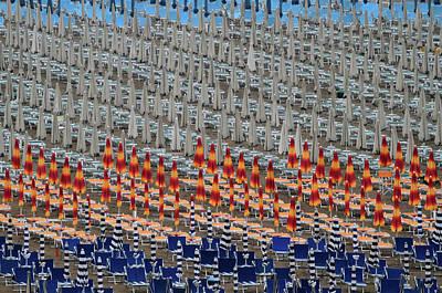 Parasol Photograph - Tin Soldiers by Hans-wolfgang Hawerkamp