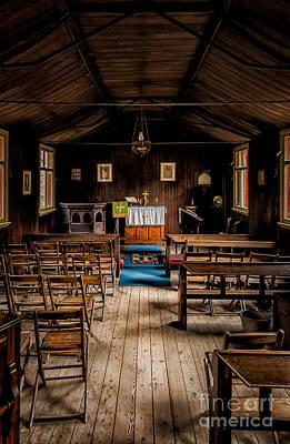 Tin Tabernacle Church Art Print by Adrian Evans