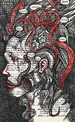 Mixed Media - Tin Woman by Stacey Pilkington-Smith