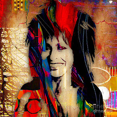 Icons Mixed Media - Tina Turner Collection by Marvin Blaine