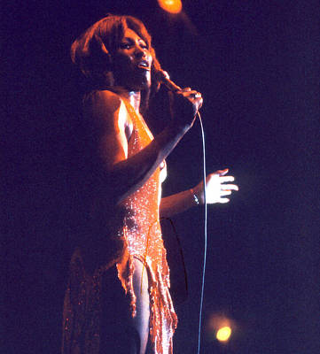 Photograph - Tina Turner - Dark Star by Robert  Rodvik