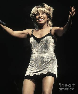 Tina Turner Art Print by Concert Photos