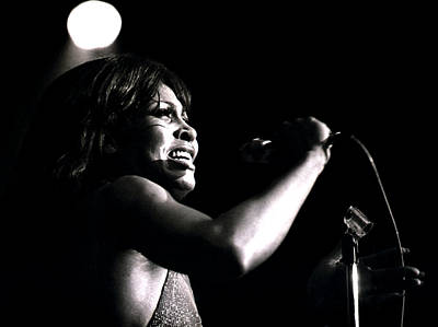 Photograph - Tina Turner - Growling by Robert  Rodvik