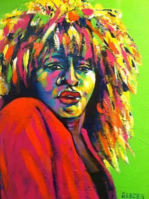 Tina Turner Painting - Tina Turner by Stuart Glazer