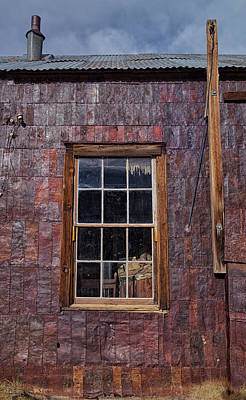 Photograph - Tin Can Architecture At Bodie by Kathleen Bishop