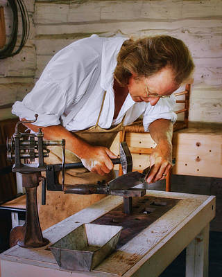 Photograph - Tinsmith - Fort Atkinson Nebraska by Nikolyn McDonald