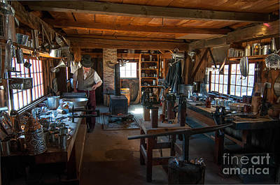 Tinsmith Shop - Old Sturbridge Village Art Print
