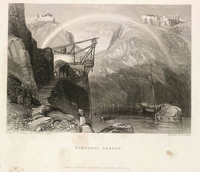 Harding Photograph - Tintagel Castle by British Library