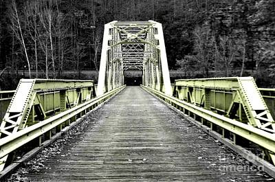 Photograph - Tinted Bridge by Amy Sorrell