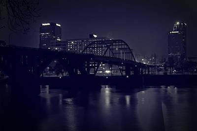 Photograph - Tinted Broadway Bridge by Robert Camp