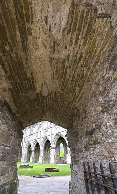 Arches Photograph - Tintern Abbey - 4 by Paul Cannon