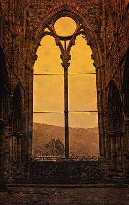 Photograph - Tintern Abbey by Liz  Alderdice