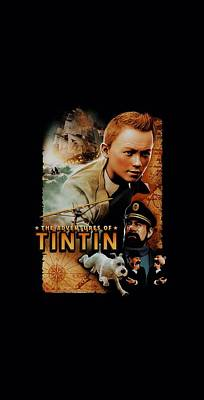 Epic Digital Art - Tintin - Adventure Poster by Brand A