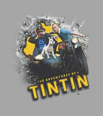 Epic Digital Art - Tintin - Breakthrough by Brand A