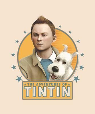 Epic Digital Art - Tintin - Buddies by Brand A