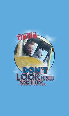 Epic Digital Art - Tintin - Don't Look Now by Brand A