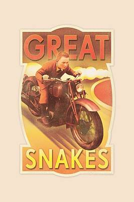 Epic Digital Art - Tintin - Great Snakes by Brand A