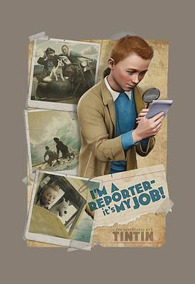 Epic Digital Art - Tintin - I'm A Reporter by Brand A