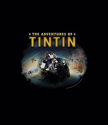 Epic Digital Art - Tintin - Journey by Brand A