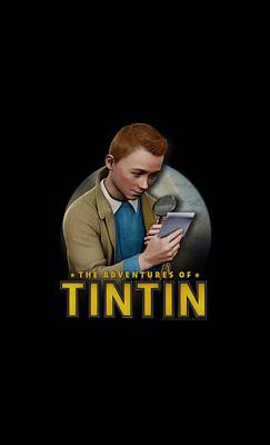Epic Digital Art - Tintin - Looking For Answers by Brand A
