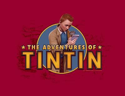 Epic Digital Art - Tintin - Looking For Clues by Brand A