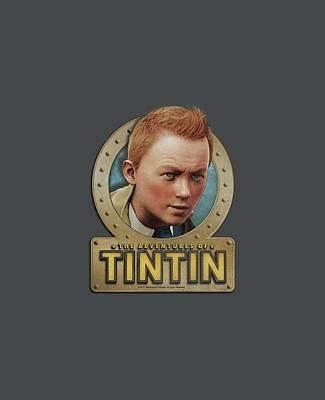 Epic Digital Art - Tintin - Metal by Brand A