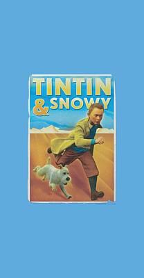 Epic Digital Art - Tintin - Tintin And Snowy by Brand A