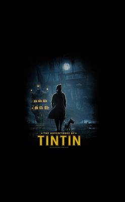 Epic Digital Art - Tintin - Title Poster by Brand A
