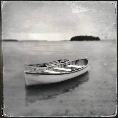 Photograph - Tintype Boats 1 by Fred LeBlanc