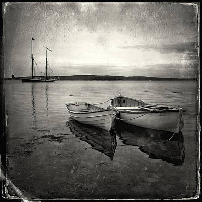 Photograph - Tintype Boats 3 by Fred LeBlanc